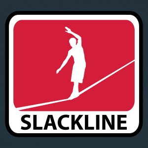 Navy Slackline T-Shirts - Frauen T-Shirt