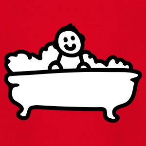 Rot Badewanne Kinder T-Shirts - Teenager T-Shirt