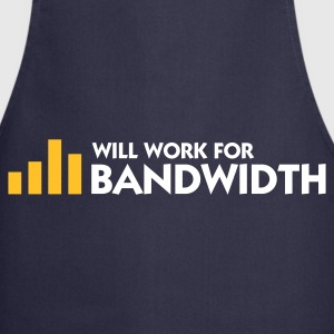 Marine Will Work for Bandwidth (2c) Forklær - Kokkeforkle