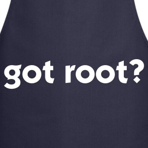 Navy got root? (1c)  Aprons - Cooking Apron