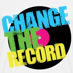 Change The Record T-Shirts - Men's T-Shirt