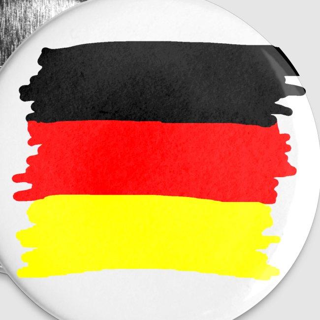 Toller Laden Deutschland Flagge Als Wischer Anstecker Groß 56 Mm