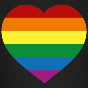 Schwarz Rainbow Flag :) T-Shirts - Frauen T-Shirt