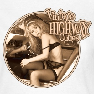 Vintage Highway Cutie - Frauen T-Shirt