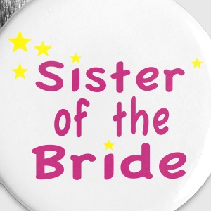 Star Sister of the Bride Bottoni/Spille - Spilla piccola 25 mm