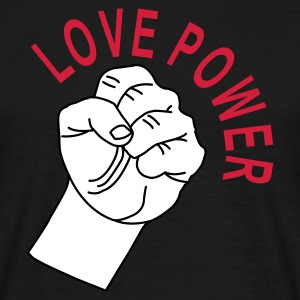 Love Power Heren shirt - Mannen T-shirt