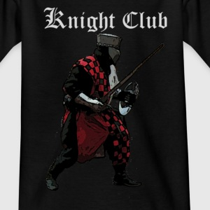 Black Knight fight Medieval Kids' Shirts - Teenage T-shirt