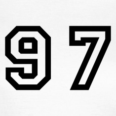 White Number - 97 - Ninety Seven Women's T-Shirts