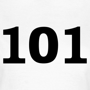 White Number - 101 - One Hundred and One Women's T-Shirts - Women's T-Shirt