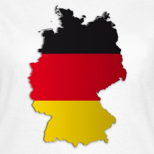 Map of Germany 2 - Women's T-Shirt