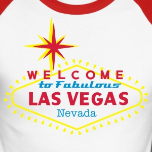 LAS VEGAS T-shirts - Men's Long Sleeve Baseball T-Shirt