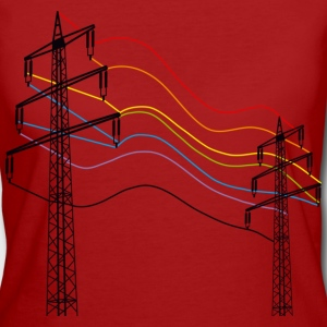 Purple electricity T-Shirts - Women's Organic T-shirt