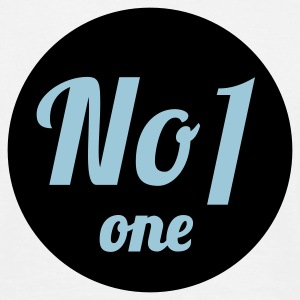 Weiß No 1 © T-Shirts - Mannen T-shirt