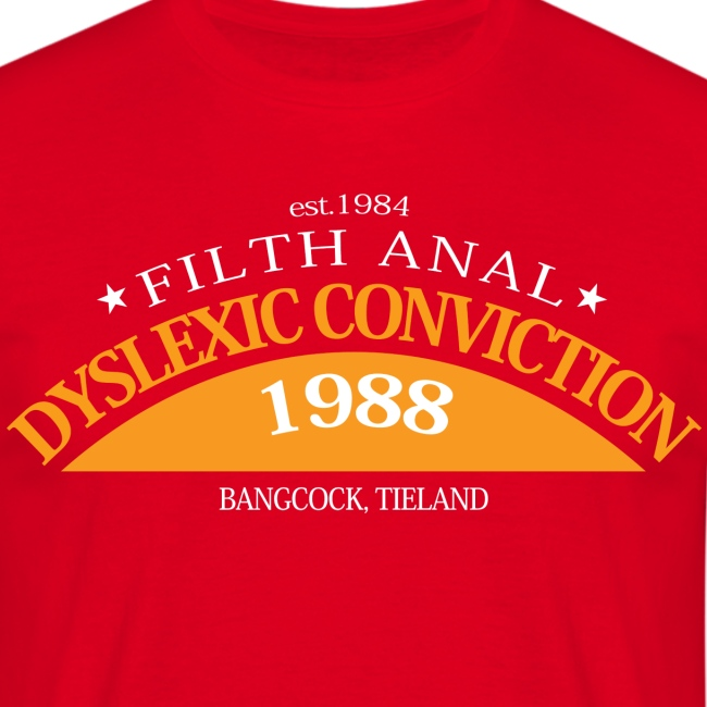 Dyslexic Convention '88 - No Text