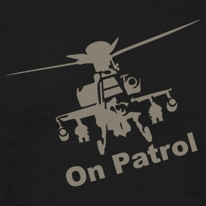 on patrol - Männer T-Shirt