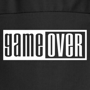Black game over outline  Aprons - Cooking Apron