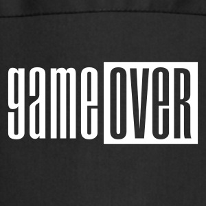 Black Game over deluxe  Aprons - Cooking Apron