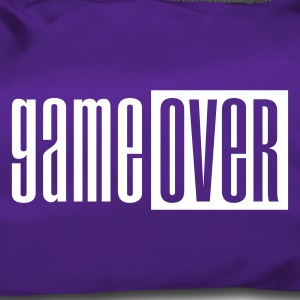 Purple Game over deluxe Bags  - Duffel Bag