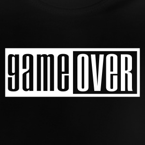 Sort game over outline Baby T-shirts - Baby T-shirt
