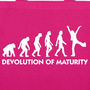Jeans blue Devolution of Maturity (1c) Bags  - EarthPositive Tote Bag