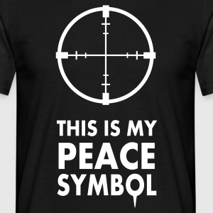 This is my peace symbol - T-shirt Homme