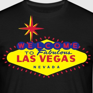 Welcome to Fabulous lAS VEGAS t-shirt - Men's T-Shirt