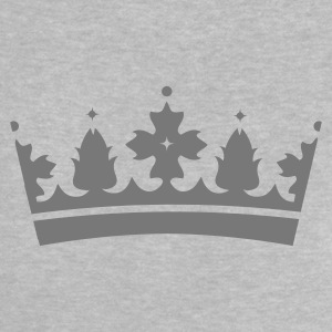 Heather grey Crown Baby Shirts  - Baby T-Shirt