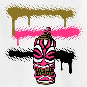 SPRAY TIKI STRIPES (P FR) par toneyshirts.de - T-shirt Ado