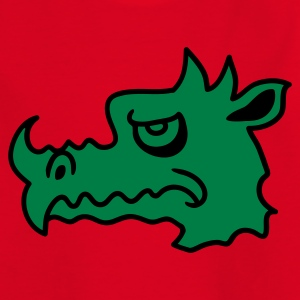 Rot Böser Drachen Kinder T-Shirts - Teenager T-Shirt