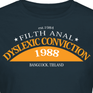 Ontwerp ~ Dyslexic Convention '88 Ladies T shirt