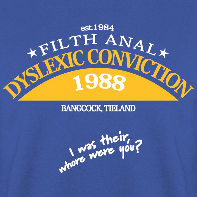 Dyslexic Convention '88 Sweater