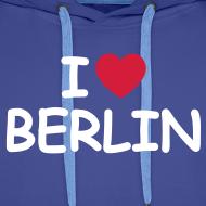 Motiv ~ I love Berlin Kaputzenpullover