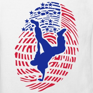 breakdance empreinte digital americaine Tee shirts - T-shirt Bio Enfant