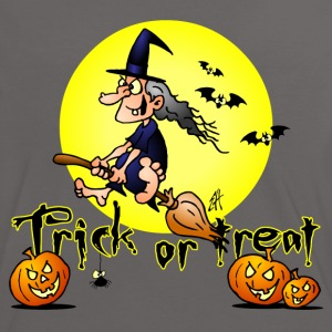 Halloween, Trick or treat Tee shirts - T-shirt contraste Femme
