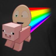 Design ~ Nyan Pig - Ladies T-Shirt