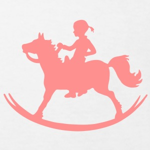Rocking Horse Girl Shirts - Kids' Organic T-shirt