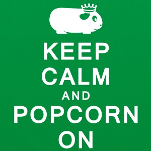 'Keep Calm & Popcorn On' Tote Shopping Bag  - Tote Bag
