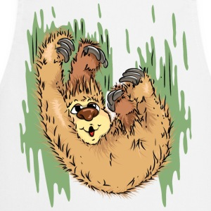 Sloth has fun  Aprons - Cooking Apron