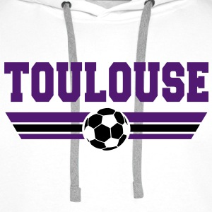 Toulouse foot 2013 Sweat-shirts - Sweat-shirt à capuche Premium pour hommes