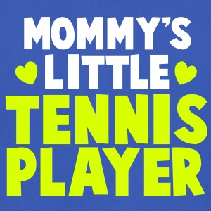 Mommy's little TENNIS Player T-Shirts - Men's V-Neck T-Shirt
