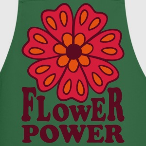 Flowerpower 70s Retro Style Flower Gardening  Aprons - Cooking Apron
