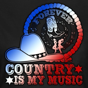 forever country is my music Tee shirts - T-shirt Femme