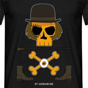 orange_mecanique_sanrankune_Alex_DeLarge_skull Tee shirts - T-shirt Homme