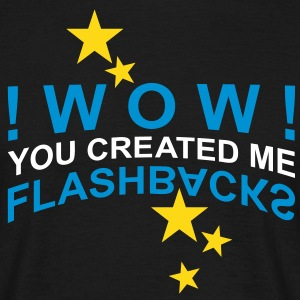 WOW flashbacks | unisex shirt - Männer T-Shirt