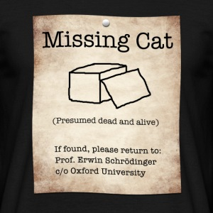 Missing Cat - Men's T-Shirt