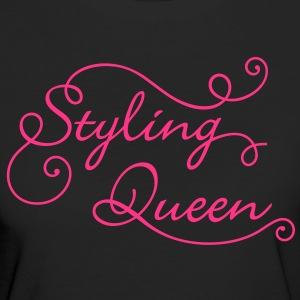Styling Queen. Always in Style.Best looking. Party T-Shirts - Women's Organic T-shirt