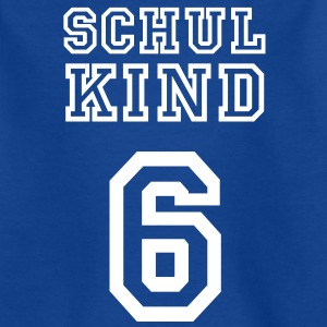 Schulkind 6 T-Shirts - Kinder T-Shirt