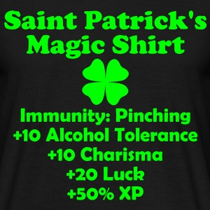 Saint Patrick's Magic Shirt T-Shirts - Men's T-Shirt