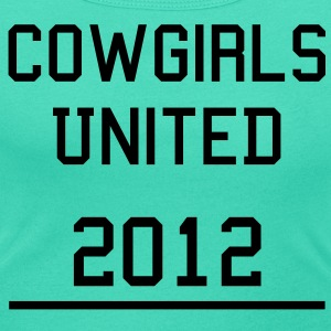 Cowgirls United T-Shirts - Women's Scoop Neck T-Shirt