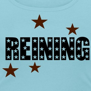 Reining design stars T-Shirts - Women's Scoop Neck T-Shirt
